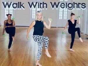 Ellen Barrett Walk With Weights