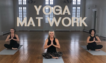 Yoga Mat Work Ellen Barrett