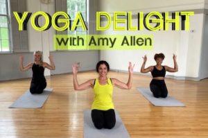 Yoga Delight with Amy Allen on ellenbarrett.com